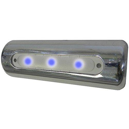 Best Bargain TACO LED Deck Light - Pipe Mount - Blue LEDs