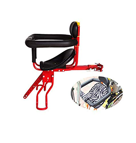 Buy Bargain Mountain Bike Child seat Front Baby car seat Removable, Fence armrest Frame Attachment w...