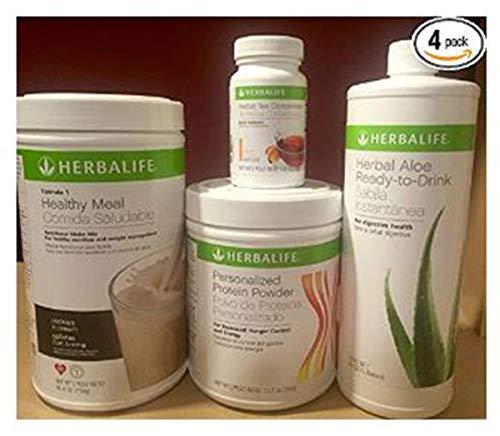 Herbalife Formula 1+ personalisierte Protein + Ready to Drink Aloe + Kräutertee Konzentrat