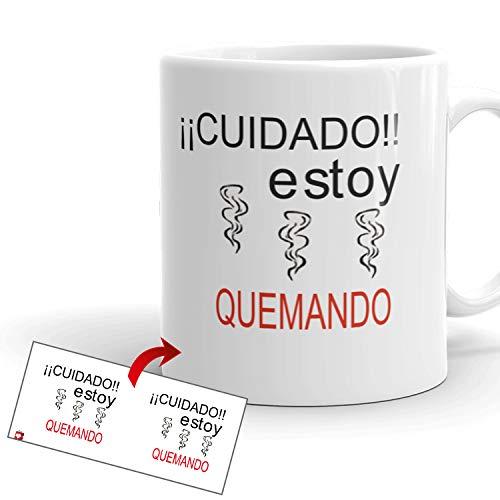 Kembilove Tazas de Desayuno CREA – Tazas de Café Divertidas y Graciosas...