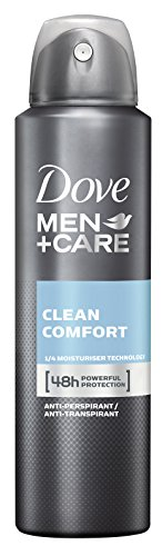 Dove Men Care Clean Comfort Desodorante Spray, 3-pack (3 x 150 ml)