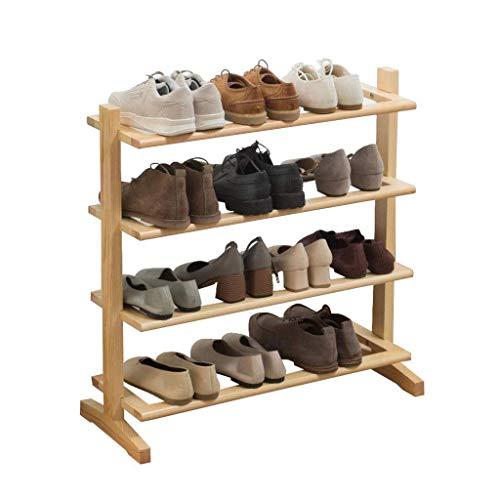 qazxsw Estante de Almacenamiento de zapateros, Organizador de Zapatos Estante de Almacenamiento de múltiples Capas Estante de Zapatos para el hogar Simple Estante de Almacenamiento de Mad