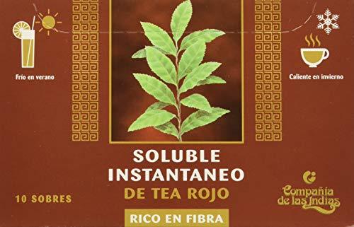 Indias Te Rojo Puerh Fibra Soluble 10 Sobres Solubles - 200 g