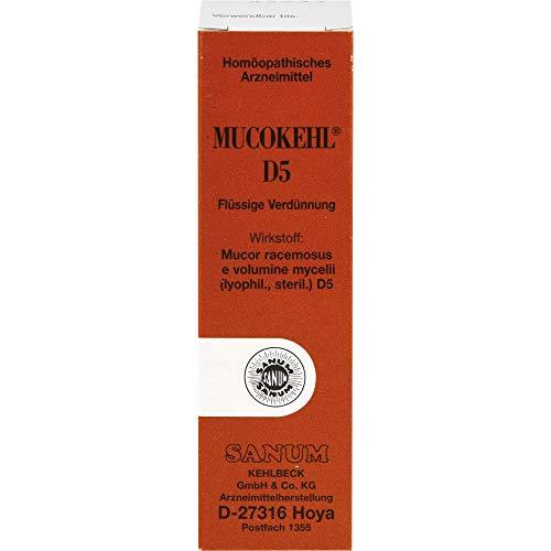 MUCOKEHL D5 flüssige Verdünnung zum Einnehmen, 10 ml Lösung