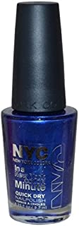 New York Color In A New York Color Minute Quick Dry Nail Polish, Pier 17, 0.33 Fluid Ounce