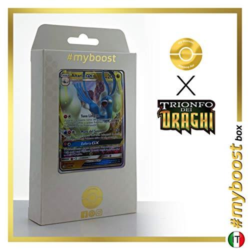 Altaria-GX 41/70 - #myboost X Sole E Luna 7.5 Trionfo dei Draghi - Box di 10 Carte Pokémon Italiane