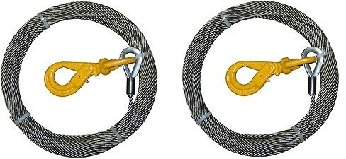 Learn More About B/A Products 4-38SC150LH Winch Cable, Steel, 3/8 x 150', 4.09 Height, 20.2 Width, ...