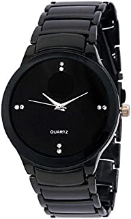Jyoti Electronics Analog Black Dial Men's Watch - Je09