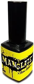 Matte Black Nail Polish, Matte Is Murder - (Lefty Label Art)