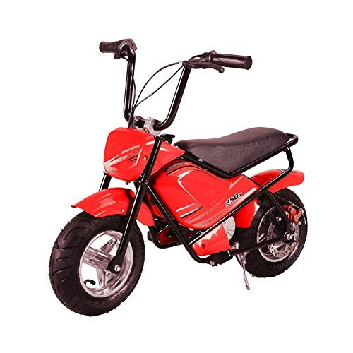 Mini moto eléctrica infantil 250w / mini scooter para niños de bateria/moto infantil electrica 24V 7AH (Rojo)