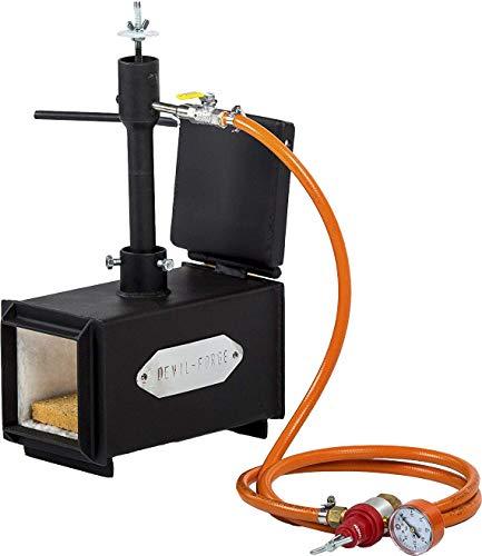 Gaspropaan | Messen smeden | Mes maken | Smidssmeden | Oven brander | 105