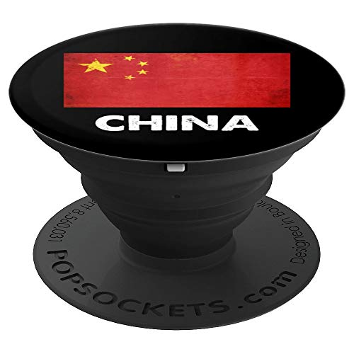 Chinesische China-Flagge - PopSockets Ausziehbarer Sockel und Griff für Smartphones und Tablets