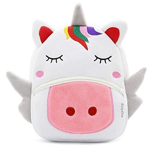 Cute Animal Cartoon Backpack School Bag, for Toddler Children Boys Girls, 3-5 Years Old, Perfect Gift for Kids, Children, Unisex (Unicorn)