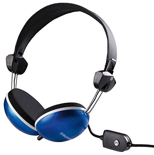 Grundig 38216 - Kopfhörer (ohrumschließend, Kopfband, Dynamisch, halboffen, Verkabelt), farblich sortiert