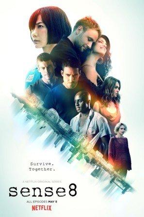 Sense 8 – U.S TV Series Wall Poster Print - 43cm x 61cm / 17 Inches x 24 Inches A2 Sense8