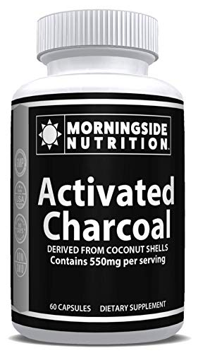 Activated Charcoal - Morningside Nutrition - 550mg
