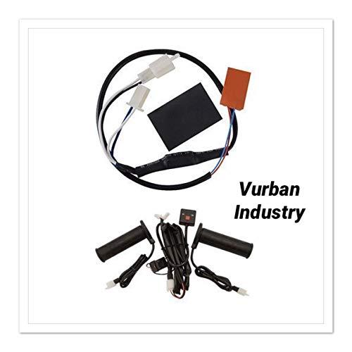 TUSK DIGITAL ATV HOT HEATED GRIPS with TUSK THUMB WARMER KIT