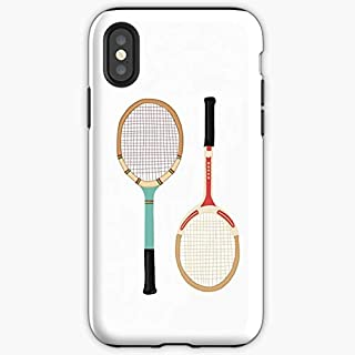 Tennis Vintage Hipster Tumblr - Apocalypse Phone Case Glass, Glowing For All Iphone, Samsung Galaxy-pengems.