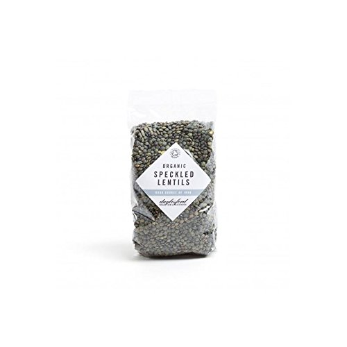 San Francisco Mall Daylesford Organic Deluxe Speckled Lentils of 500G 4 Pack