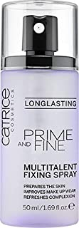 Catrice Prime And Fine Multilent Fixing Spray Purple