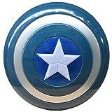 Escudo Capitan America Niños Uno Tamaño 1: 1 Apoyos de Película Material plástico ABS Vengadores Marvel Capitán América Disfraz Shield Escudo B,32CM