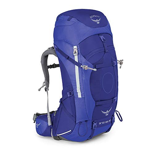 Osprey Damen Ariel AG 65 Backpacking Pack, Tidal Blue, WM