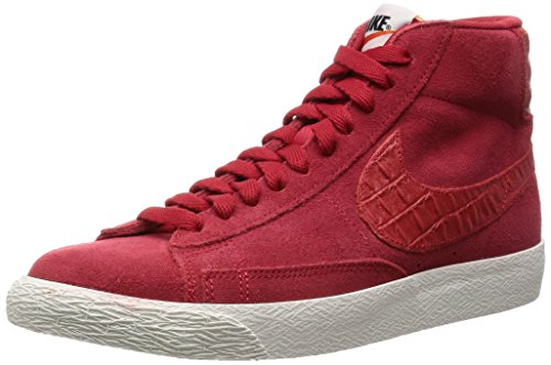 Nike Herren Schuhe Blazer Mid Premium Vintage 638261-601 Rot (EUR 39, Rot)