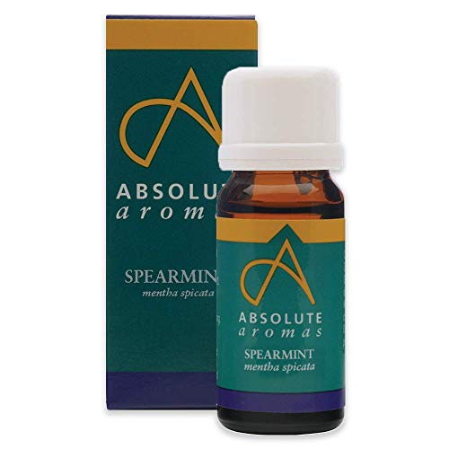 Absolute Aromas Spearmint Essential Oil 30ml - 100% Pure, Natural, Undiluted and Cruelty-Free - for use in Diffusers and Aromatherapy Blends