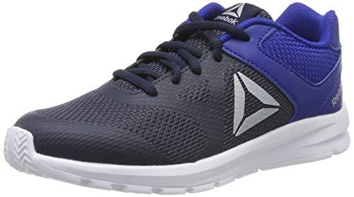 Reebok Tenis Rush Runner DV8688 para Jóvenes, Color Azul, Talla 24 Mex