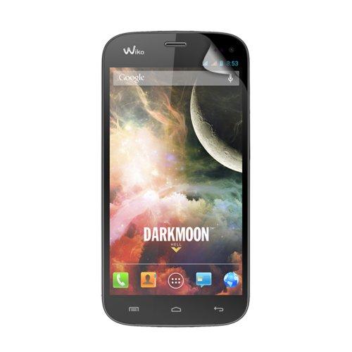 Unbekannt Blueway PEWIKODARKMOON Bildschirmschutzfolie für Wiko Darkmoon, transparent, 2Stück
