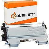 Bubprint XXL Cartucho Tóner Compatible para Brother TN-2220 DCP-7055 DCP-7055W DCP-7065DN HL-2130 HL-2135W HL-2240 HL-2240D HL-2250 HL-2250DN MFC-7360 MFC-7360N MFC-7460DN MFC-7860DW Fax 2840 Negro
