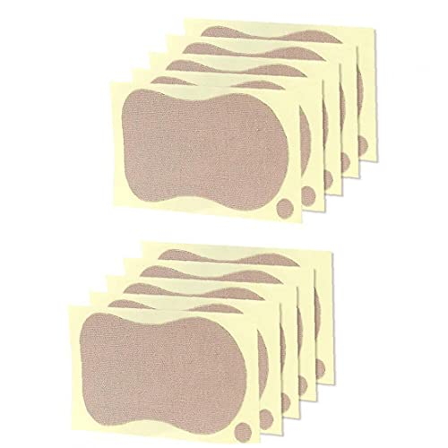 NiceJoy Kit para El Cuidado Personal Sweat Pads Bloque Toallitas Anti Axilas Perspirant D Mujeres Verano Axila Desodorantes para La Ropa Camiseta 10pcs