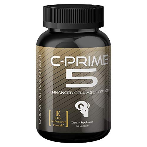 Superior Nutrient Partitioner for Lean Muscle Growth | C-Prime 5 by RAM ADVANTAGE | Glucose Disposal, Increased Strength, Lean Muscle Mass and Extreme Vascularity | 60 (ct)