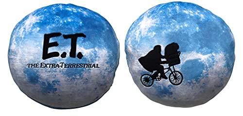 Coussin E.T Lune – Coussin Confortable et agréable à serrer – Motif : E.T Lune – Cadeau pour Fan et Passionné – Qualité Supérieure – Dimensions 40 cm x 40 cm