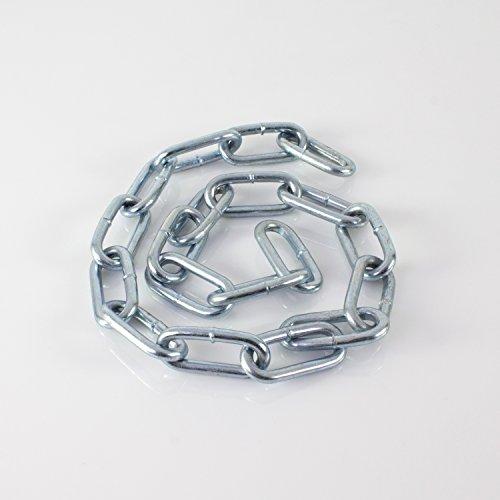 showking Kette Silverstar für Discokugel bis Ø 100cm, 1m - Gliederkette zur Aufhängung von Spiegel Kugeln