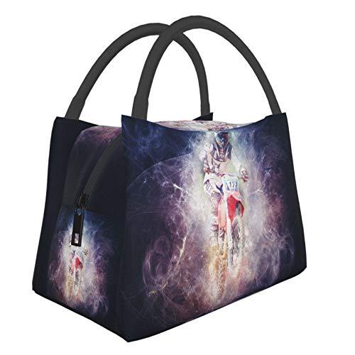 Mountain Bike Bento Picnic Bags Lunch Bag Multifunctional Zipper Package For School Work Office Handbag Bento Insulation Lunch Box
