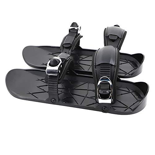 LUOBOTOU Skischuhe Wasserdicht Tragbare Winterschneefüße Befestigen Sie den Snowboard Bindings Boot Skischuhe Sie den Snowboard Bindings Boot (Schwarz)