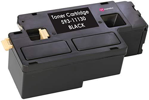 Schwarz Premium Toner kompatibel für Dell C1660, C1660W, C1660DW, C1660CN, C1660CNW | 1.250 Seiten
