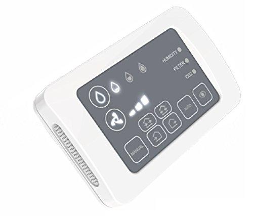 Afstandsbediening met touchscreen voor SUEDWIND Ambientika ADVANCED - warmtegeleider eentraps - mechanische ventilatie gecontroleerd