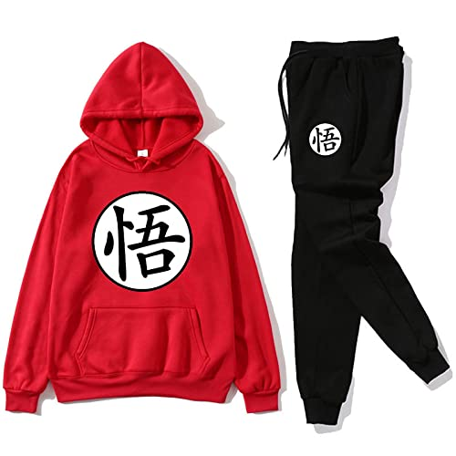 Mujer Sudadera con capucha Dragon Ball Goku Lettre Imprimé Pochette Unisexe Pull Animation Grande Taille pour Homme UKH