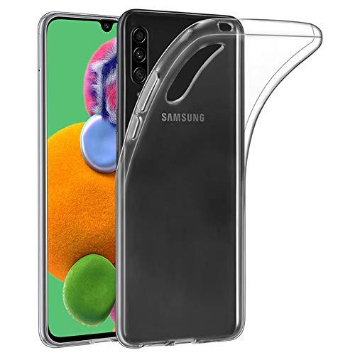 32nd Funda Slim Gel de Silicona Transparente para Samsung Galaxy A90 5G (2019) Carcasa Ligera Ultra Fina - Transparente