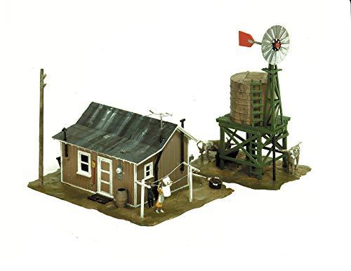 échelle H0 Kit de montage petit Ferme avec Figurines