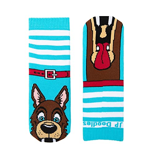 Puppet Socks- Funny Novelty Animal Socks for Toddler, Youth, and Adults.
