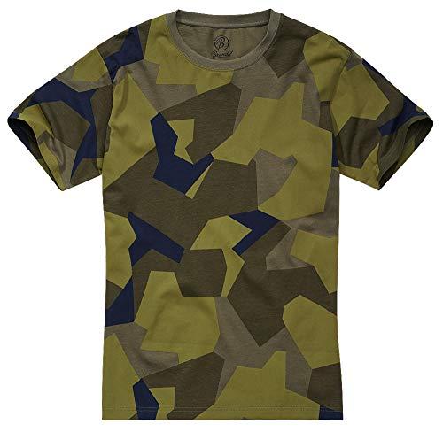 Brandit T-Shirt, Swedish Camo M