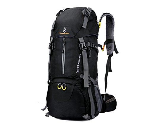 SZBTF Rucksack, wasserdicht, 60 l, für Outdoor-Sport, Trekking, Camping, Bergsteigen, Klettern