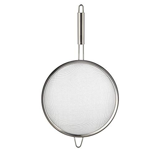 MEISTERKOCH Küchensieb Edelstahl 25cm Ø Silberfarben Meisterkoch-Qualität