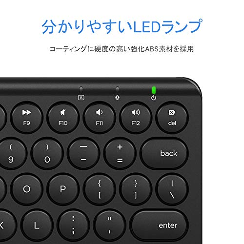 41Ce4Mo ZrL-iCleverのBluetoothキーボード「IC-BK13 maruko」を購入したのレビュー!なかなか良い感じ