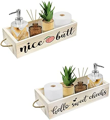 Cocomong Nice Butt Cheap sale Super popular specialty store Bathroom Decor Paper Holder Box Funny Toilet