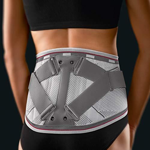 Rückenbandage mit Pelotte Bort Select Stabilo Lady silber - Größe 0