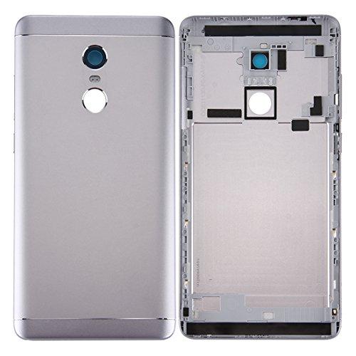 Tapa de la batería Battery Cover for Xiaomi Redmi Note 4X Tapa Trasera de batería (Gris) (Color : Grey)